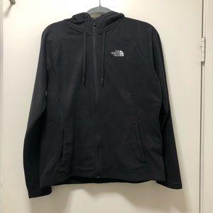North Face zip up fleece hoodie